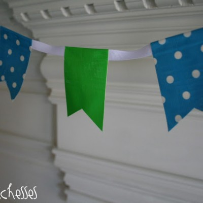 A Sneak Peek :: Duct Tape Party Accents