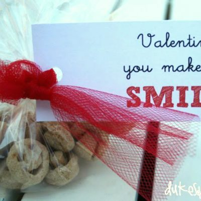 Smiley Face Valentine for Toddlers