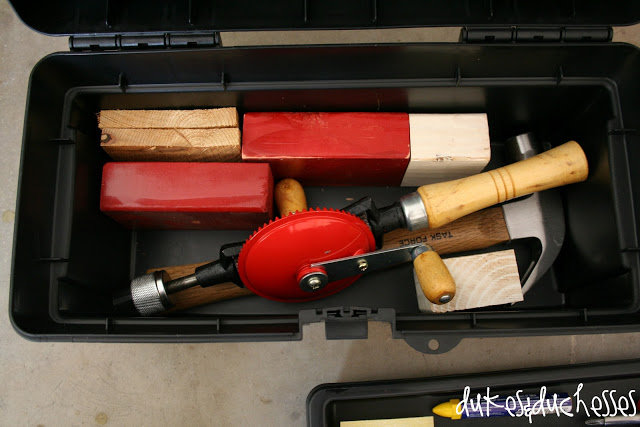 A tool box for a boy