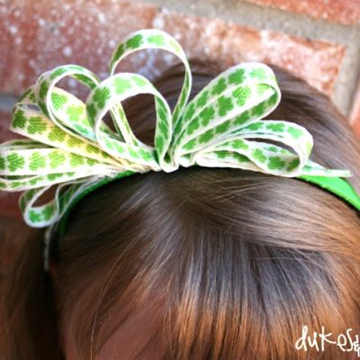DIY Shoelace Headband