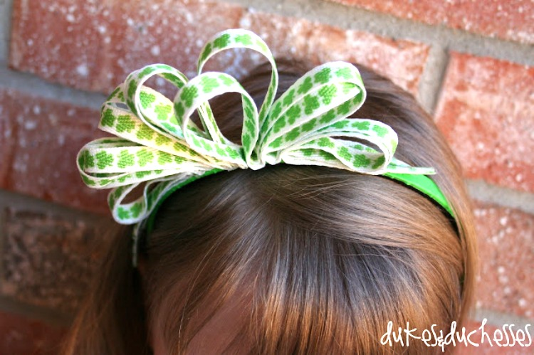 gymboree shoelace headband