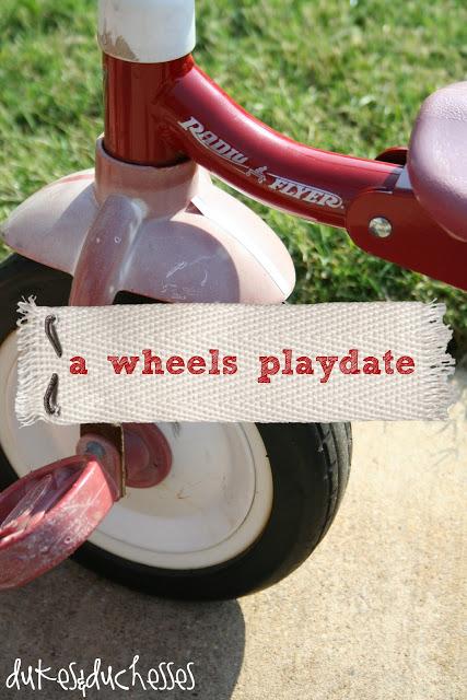A Wheels Playdate
