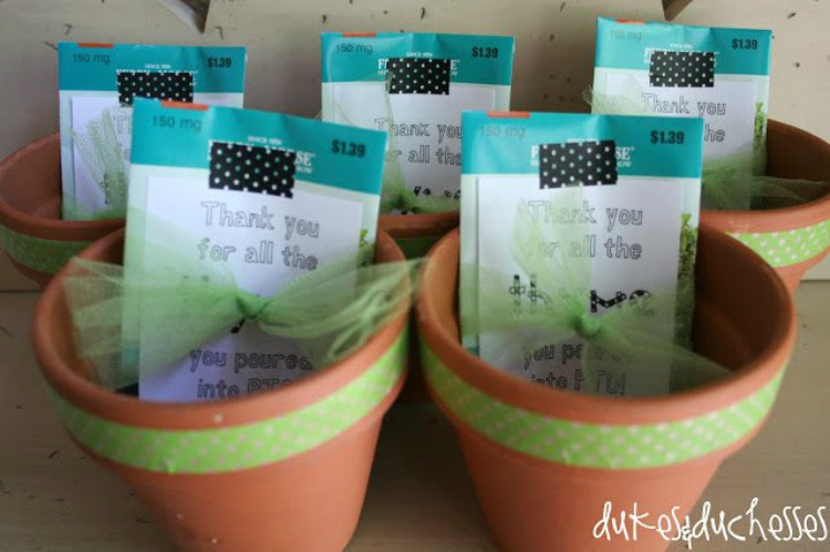 thyme gift for PTO or PTA