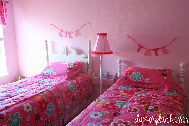 A Room Makeover for Little Girls