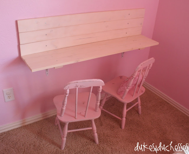 A Child's Wall Desk