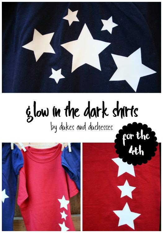 glow in the dark shirts for the 4th of July