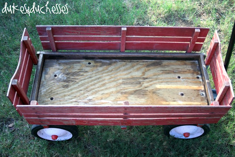 how to restore a vintage wagon