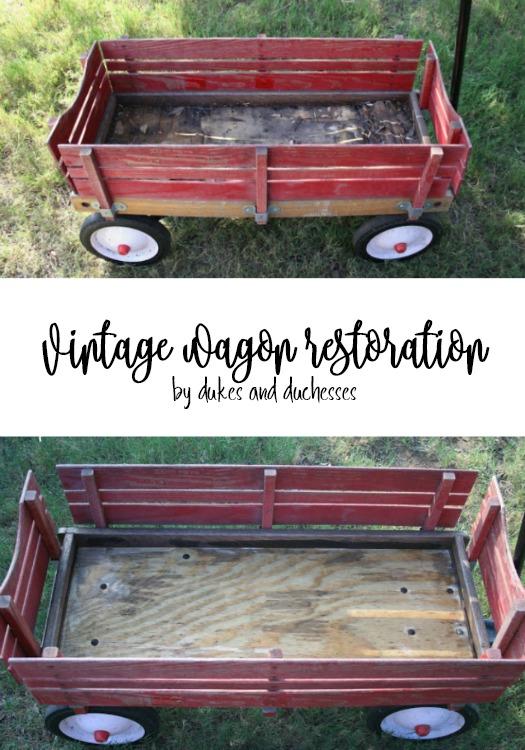 vintage wagon restoration