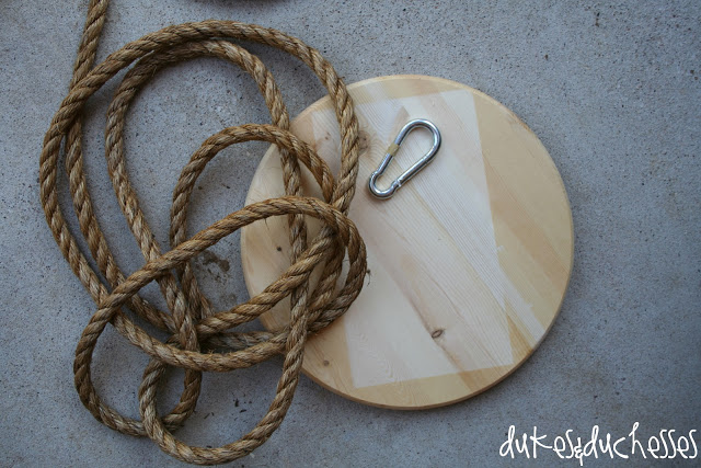 how to make a rope swing