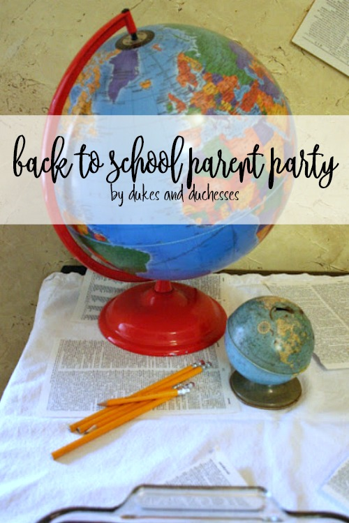back to school parent party