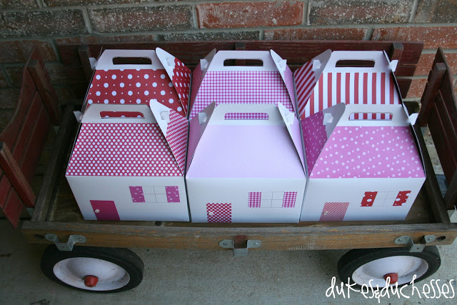 Doll House Birthday Party Favors
