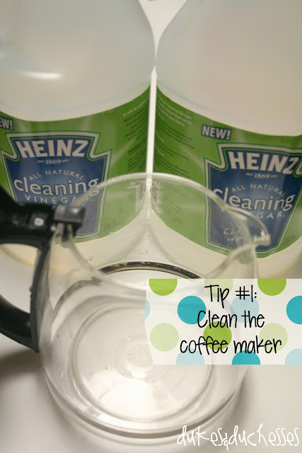 Coffee Maker Cleaning Without Vinegar : 6 Things You Can Clean with Vinegar - Dukes and Duchesses
