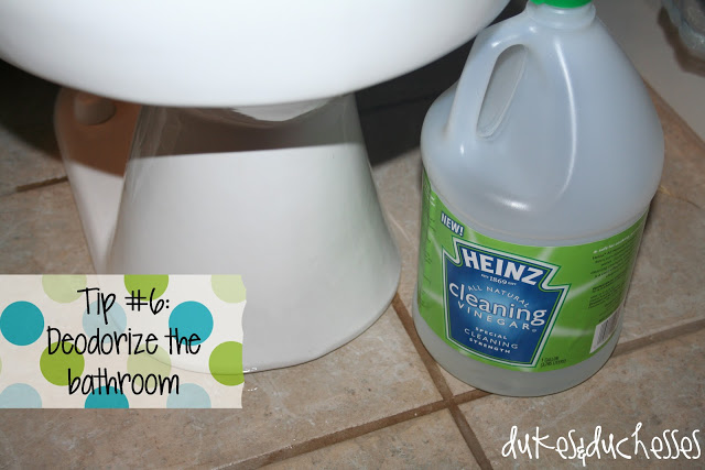 cleaning with vinegar #HeinzVinegar