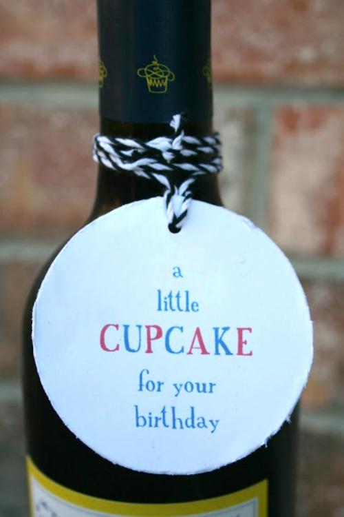 easy wine gift idea