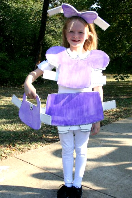 paper doll costume for halloween