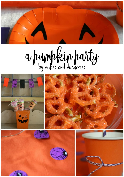 pumpkin party for halloween