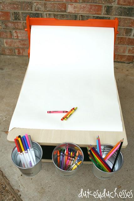 DIY art table