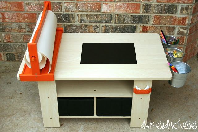 DIY art table