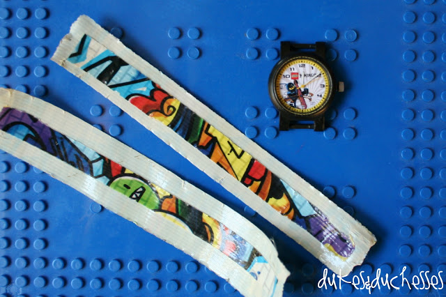 Duck Brand Duck Tape watch band
