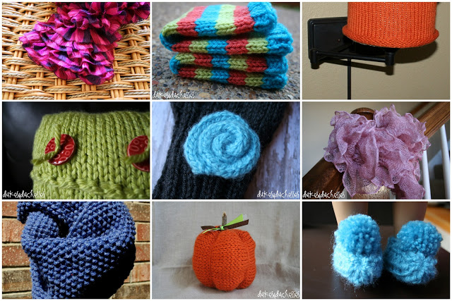 A Year of Knitting {2012}