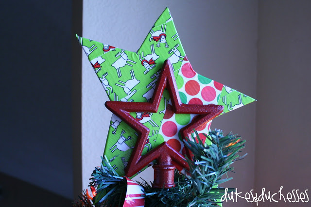 duct tape Christmas tree