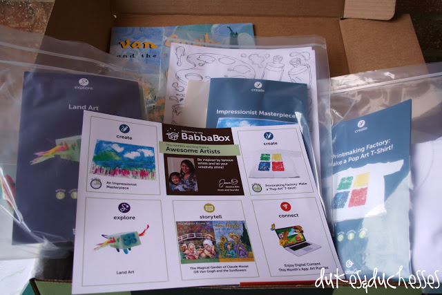 Creative Little Artists {A BabbaBox Review}