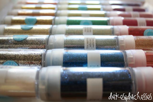 Martha Stewart Crafts glitter set