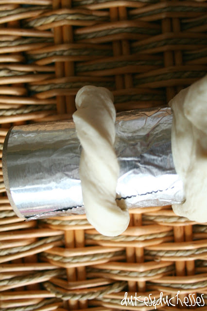 refrigerated breadsticks edible napkin rings