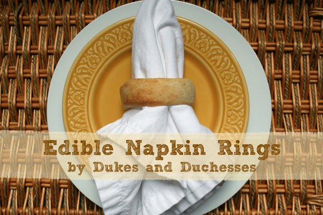 refrigerated breadsticks napkin rings