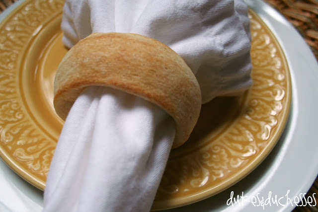 refrigerated breadsticks napkin rings