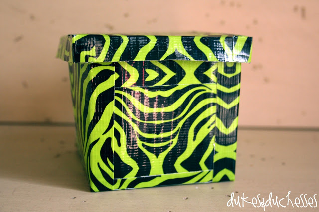 Duck Brand Duck Tape duct tape box