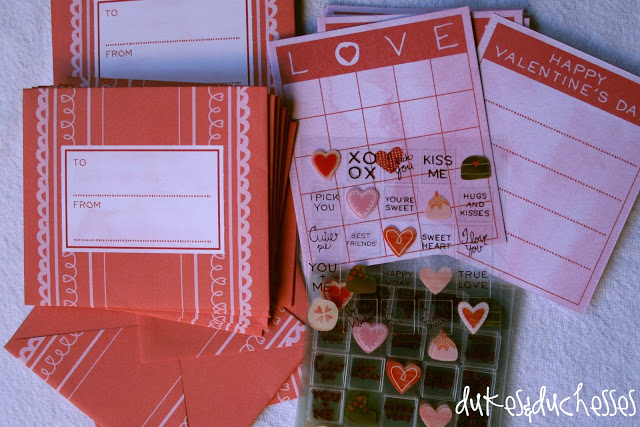 Martha Stewart Crafts cards and stickers stamp set