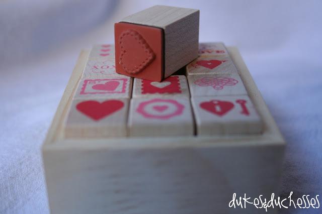 Martha Stewart Crafts valentine's day card making set
