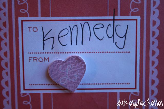 Martha Stewart Crafts homemade valentines