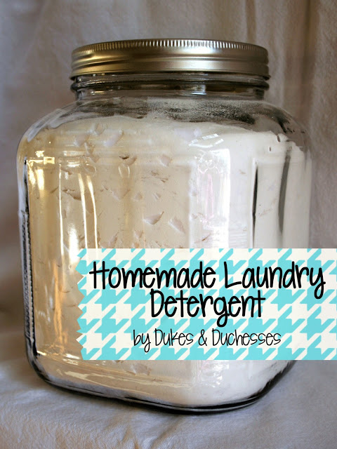 Homemade Detergent