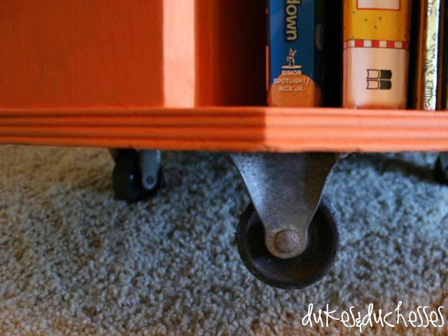 trash to treasure book caddy