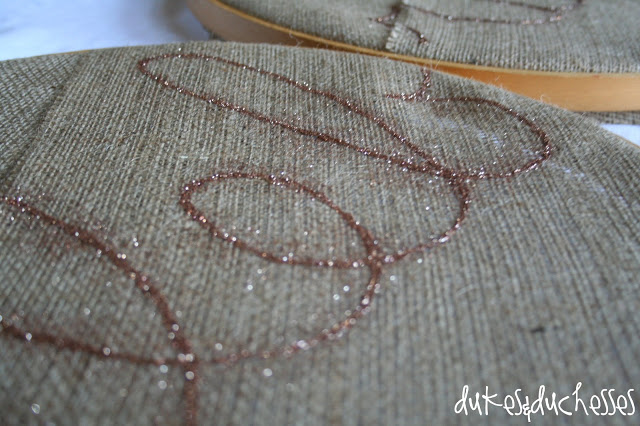 burlap banner, glitter, birthday, party
