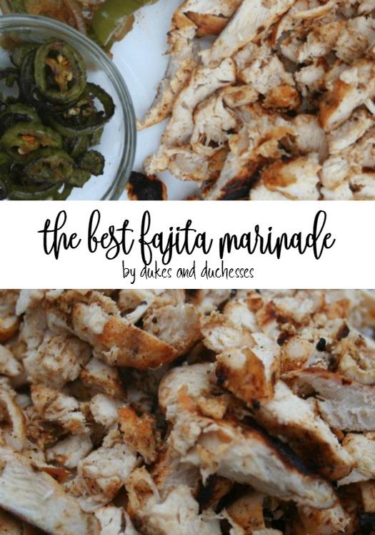 the best fajita marinade for steak or chicken