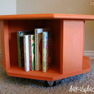 Trash to Treasure Book Caddy