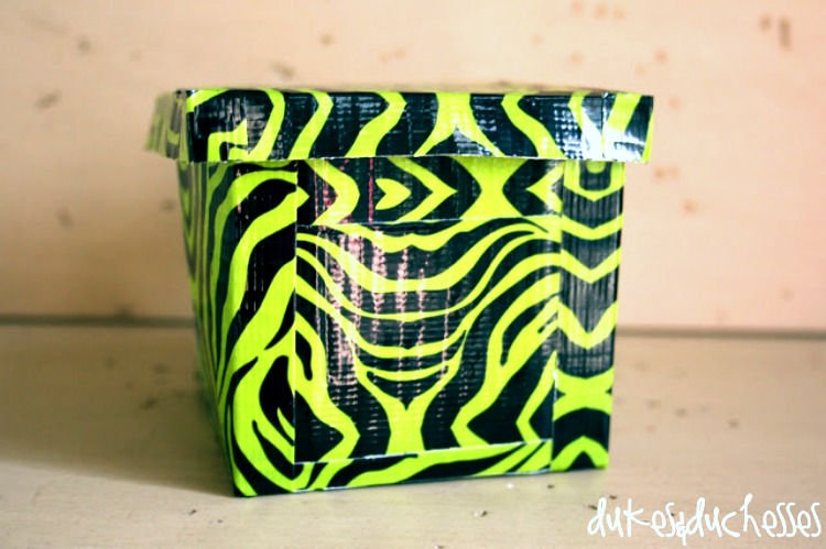 easy duct tape craft for kids