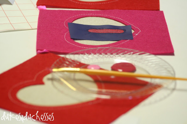 valentine banner valentine pillow DecoArt