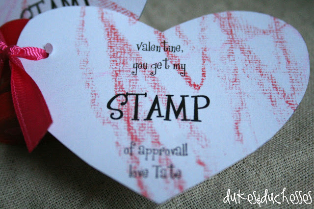 homemade valentines :: stamp of approval