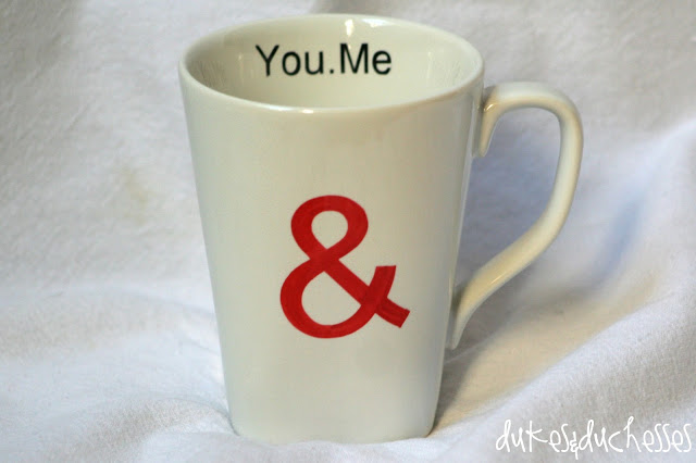 A Love Mug Made with Sharpies