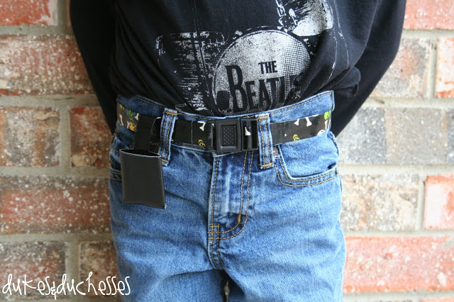 duct tape belt for boys