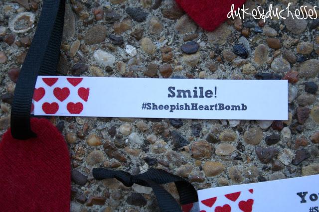 #SheepishHeartBomb