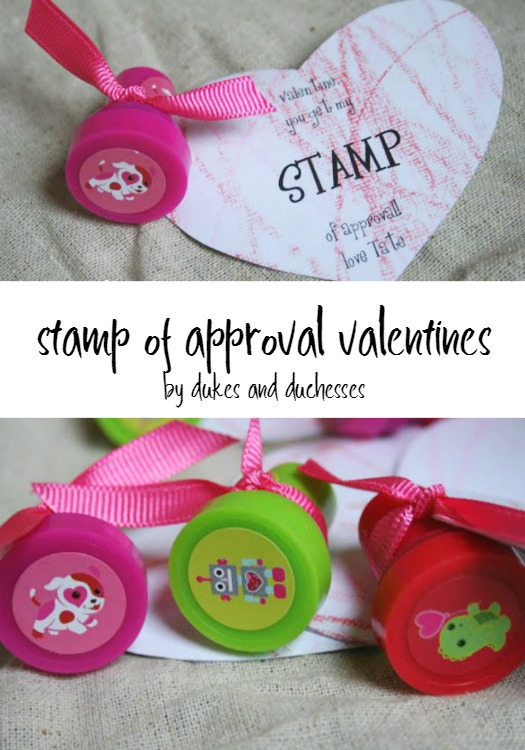 stamp of approval valentines