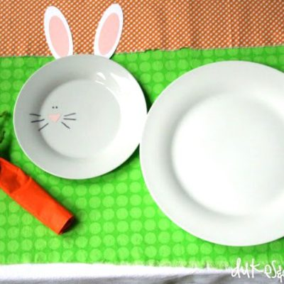 An Easter Table for Kids