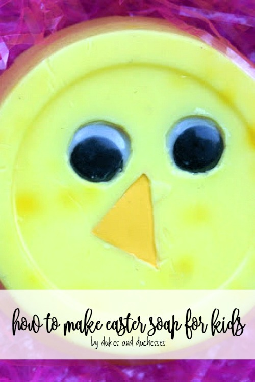 how to make easter soap for kids