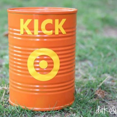 How to Play Kick the Can {with a DIY Can}