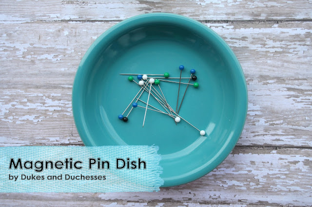 A Magnetic Pin Dish